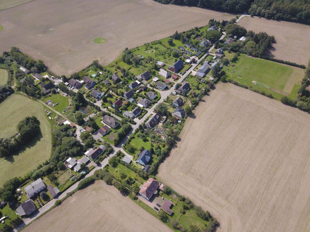 Dorf Glashagen Draufblick von Ost nach West [41]